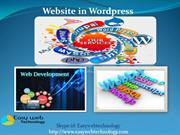 Find developer to create website in wordpress