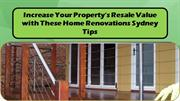 Increase Your Property's Resale Value with These Home Renovations