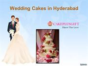Send midnight Wedding Cakes to Hyderabad Online  birth day cakes