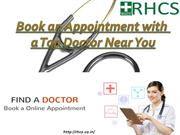 Book an Appointment with aTop Doctor Near You