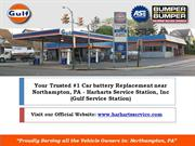 Your Trusted #1 Car battery Replacement near  Northampton, PA