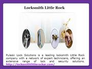 Locksmith little rock AR