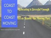 Coast to Coast Moving - Five Star Moving Services