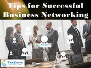 Tips for Successful Business Networking