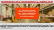 Dropship-yours - Dropship-yours