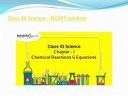 Class 10 Science – NCERT Solution by takshilalearning