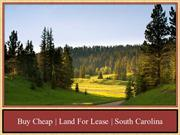 Buy Cheap | Land For Lease | South Carolina