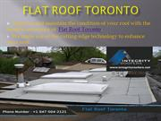 Flat Roof Toronto – Offering the best Roof Repair