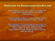 Best Western Inn & Suites Dallas