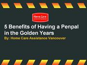 5 Benefits of Having a Penpal in the Golden Years