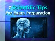 7 Scientific Tips For Exam Preparation