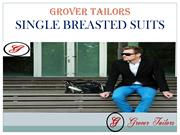 Single Breasted Suits - Grover Tailors