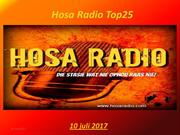 Hosa Radio Top25 10-07-2017