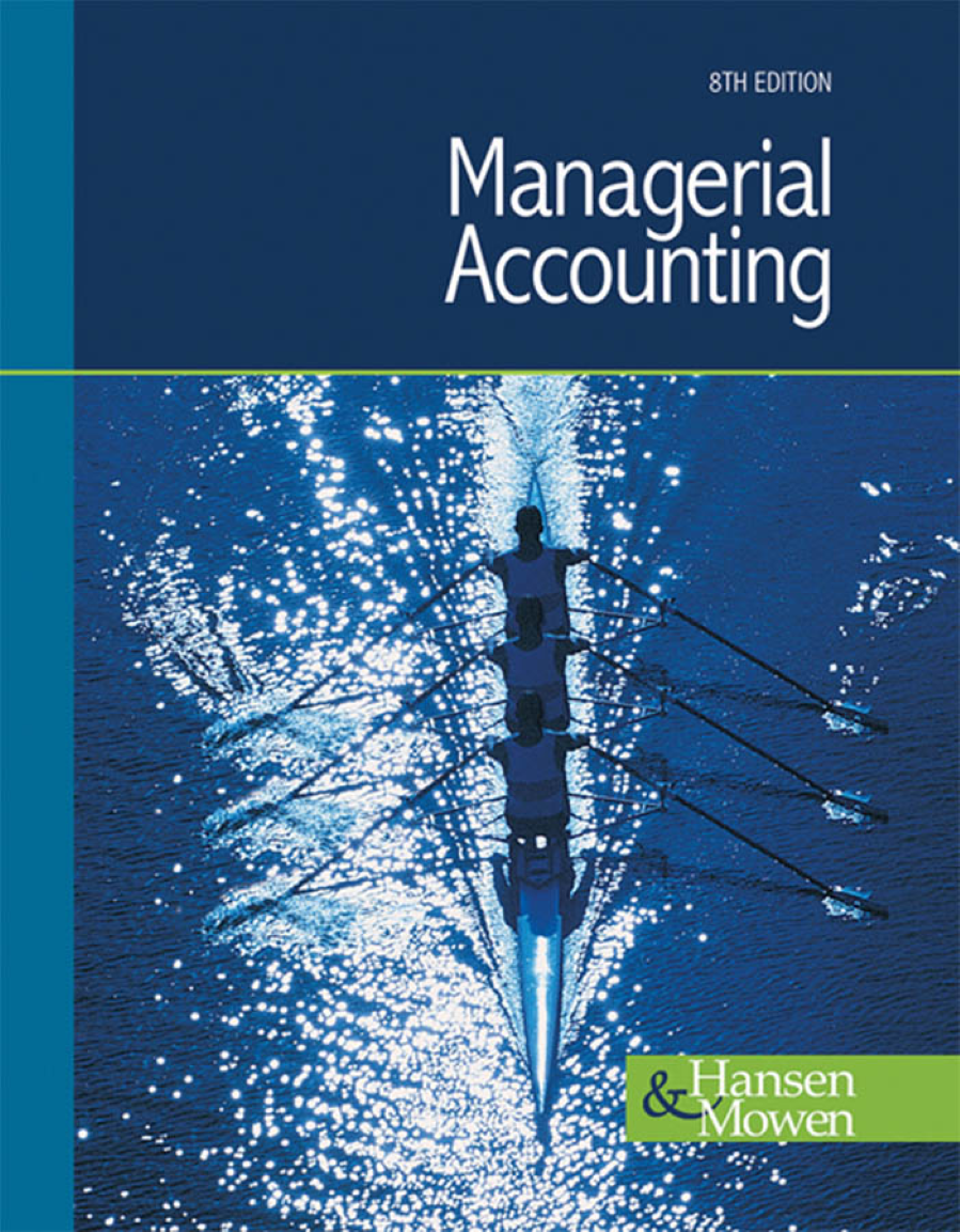 Managerial Accounting 8th Edition By Hansen And Mowen Authorstream Cable Diagram Http Wwwpoweredtemplatecom Powerpointdiagrams Related Presentations