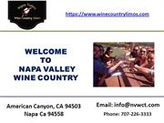 Napa valley wineries tours