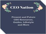 CEO Nation-The Home for the CEO