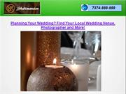 Planning Your Wedding Find Your Local Wedding Venue, Photographer and