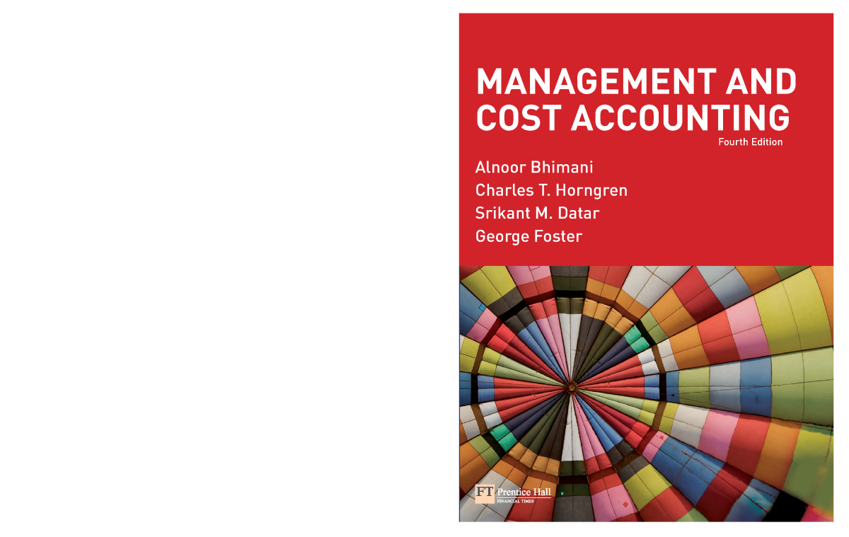 management and cost accounting bhimani 6th edition pdf download