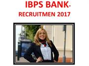 IBPS-RECRUITMEN 2017