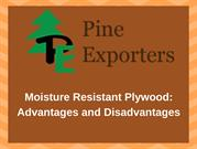 Moisture Resistant Plywood: Advantages and Disadvantages