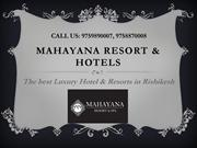 Luxury Hotel & Resorts Near Neelkanth Road Rishikesh- Mahayana Resort