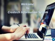 Services Of Createch Info Sys