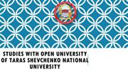 Studies with Open University of Taras Shevchenko National University