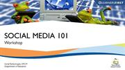 Social Media 101 - Day Workshop