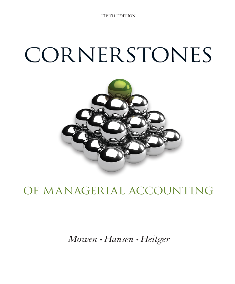 Cornerstones of managerial accounting 5th moven authorstream fandeluxe Images