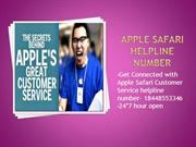 Apple Safari Helpline Number 18448553346 Apple TollFree Number