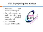 Dell Laptop Helpline Number 18448553346 Dell Laptop Tollfree Number