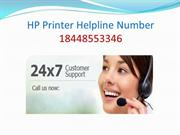 Hp Printer Helpline Number 18448553346