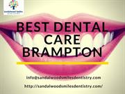 Best Dental Clinic Brampton - Sandalwood Smiles Dentistry
