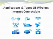 Applications & Types Of Wireless Internet Connections