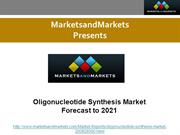 Oligonucleotide Synthesis Market