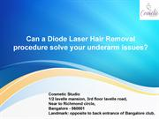 Permanent laser hair removal treatment in bangalore