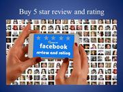 Buy 5 star review and rating