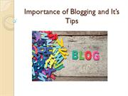 Importance of Blogging and It's Tips - Eugenia Cason NJ