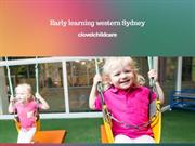 Early Learning Western Sydney- Make the Base of Kid Strong