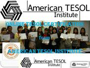 Tesol Certification Abroad