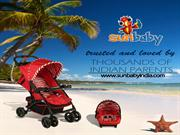 Sunbaby Exclusive Range of  Baby Strollers in India