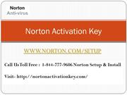 Norton Setup Activation Key
