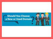 Should you purchase a new domain or not