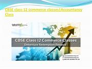 cbse class 12 commerce classes-Debenture Redemption Reserve.