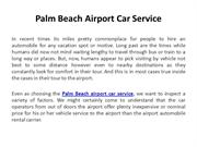 Palm Beach airport car service