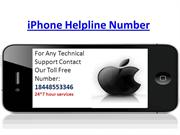 iPhone Helpline Number 18448553346 iPhone Toll Free Number