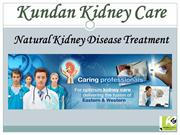 Treatment For Kidney Disease - Kundan Kidney Care