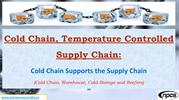 Cold Chain, Temperature Controlled Supply Chain