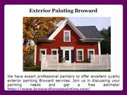 Exterior Painting Broward