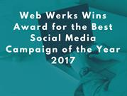 Web Werks Wins Award for the Best Social Media Campaign 2017